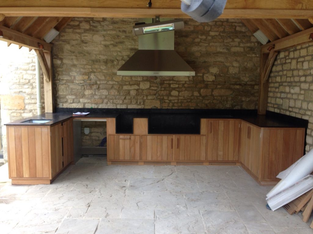 Outdoor Kitchen Neo Granite